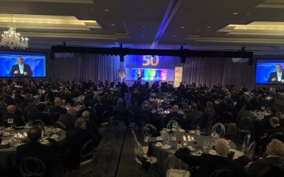 Cal Gives Keynote at 50th Annual St Louis Men's Club Against Cancer