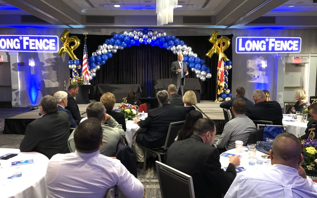 Cal Delivers Speech For Long Fence's 75th Anniversary